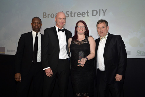 Winner Retailer of the Year Broad Street and Sponsor Stax